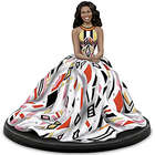 Portrait of First Lady Michelle Obama Figurine