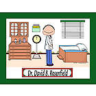 Personalized Doctor Cartoon Print