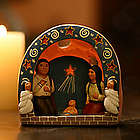Peruvian Cave of Stars Nativity Scene
