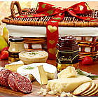 Valentine's Grand Meat and Cheese Gift Basket