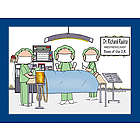 Personalized Surgeon Operating Room Cartoon