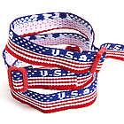 USA Woven Bracelets