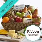 Ultimate Organic Gift Basket with Personalized Ribbon