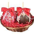 Caramel Apple Duo Valentine Gourmet Gift Basket
