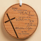Personalized Blessing for You Wood Medallion