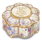 My Granddaughter, I Love You Personalized Lena Liu Music Box