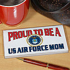 Proud To Be A Personalized Military Checkbook Cover