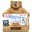 Personalized Business Card Holder for Optometrist