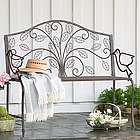 Peaceful Dove Metal Garden Bench