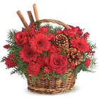 Berries and Spice Floral Gift Basket