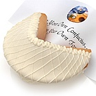White Chocolate Lover's Titanic Fortune Cookie