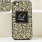 Personalized Leopard Print iPhone Case
