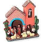Prince of Peace Ceramic Nativity Scene