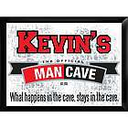 Personalized Stays in the Cave Pub Sign