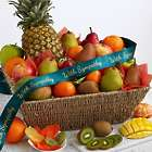 Heartfelt Wishes Gift Basket with Sympathy Ribbon