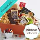 A Feast to Share Gift Basket with Personalized Ribbon