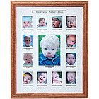 First Year Photo Collage Frame - 14x18