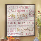 Sentiment Wall Art