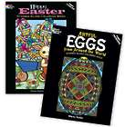 Easter Stained-Glass Coloring Book