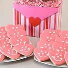 Two Dozen Smiling Sweetheart Cookies Gift Basket