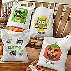 Personalized Ghoulishly Giant Trick-Or-Treat Bag