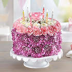 Large Pastel Birthday Flower Cake