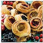 No Sugar or Salt Added Danish Sweet Rolls