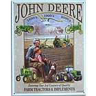 John Deere 3rd Century Metal Sign