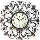 "26"" Fleur De Lis II Wall Clock"