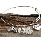 Fiance Personalized Bangle Bracelet