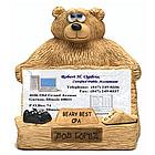 Personalized CPA Accountant Business Card Holder