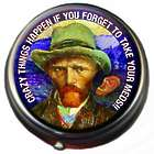 Crazy Things Happen Van Gogh Pill Box