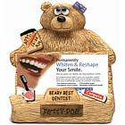 Personalized Dentist Bear Business Card Holder
