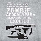 Hardest Part About the Zombie Apocalypse Sweatshirt
