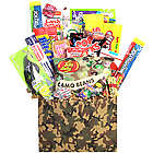 Camouflage Retro Candy Gift Basket