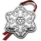 2014 Chantilly Snowflake Ornament, 7th Edition