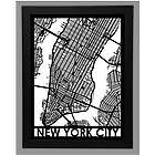 Precision Cut City Street Map