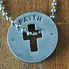 Faith Blessing Cross Ring