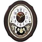 Precious Angels Musical Wall Clock