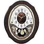 Precious Angels Musical Wall Clock