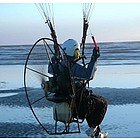 Paramotor Paragliding Over Nez Perce