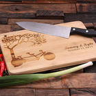 Personalized Engraved Bamboo Cutting Board