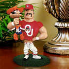 Oklahoma Sooners Lester Single Choke Rivalry Figurine