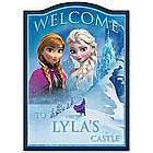 Disney Frozen Welcome Sign Personalized with a Name