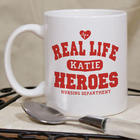 Nurse's Personalized Real Life Heroes Coffee Mug