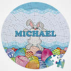 Personalized Bunny Love Easter Puzzle