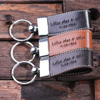 Personalized Leather Engraved Key Chain
