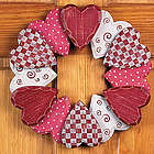 Wood Heart Wreath
