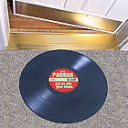 Personalized LP Record Door Mat