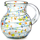 Confetti Recycled Glass Pitcher